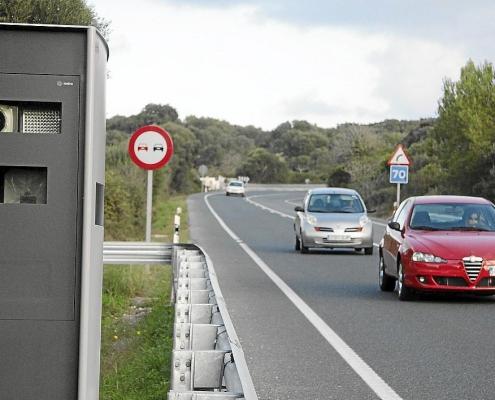 velocidad y radares